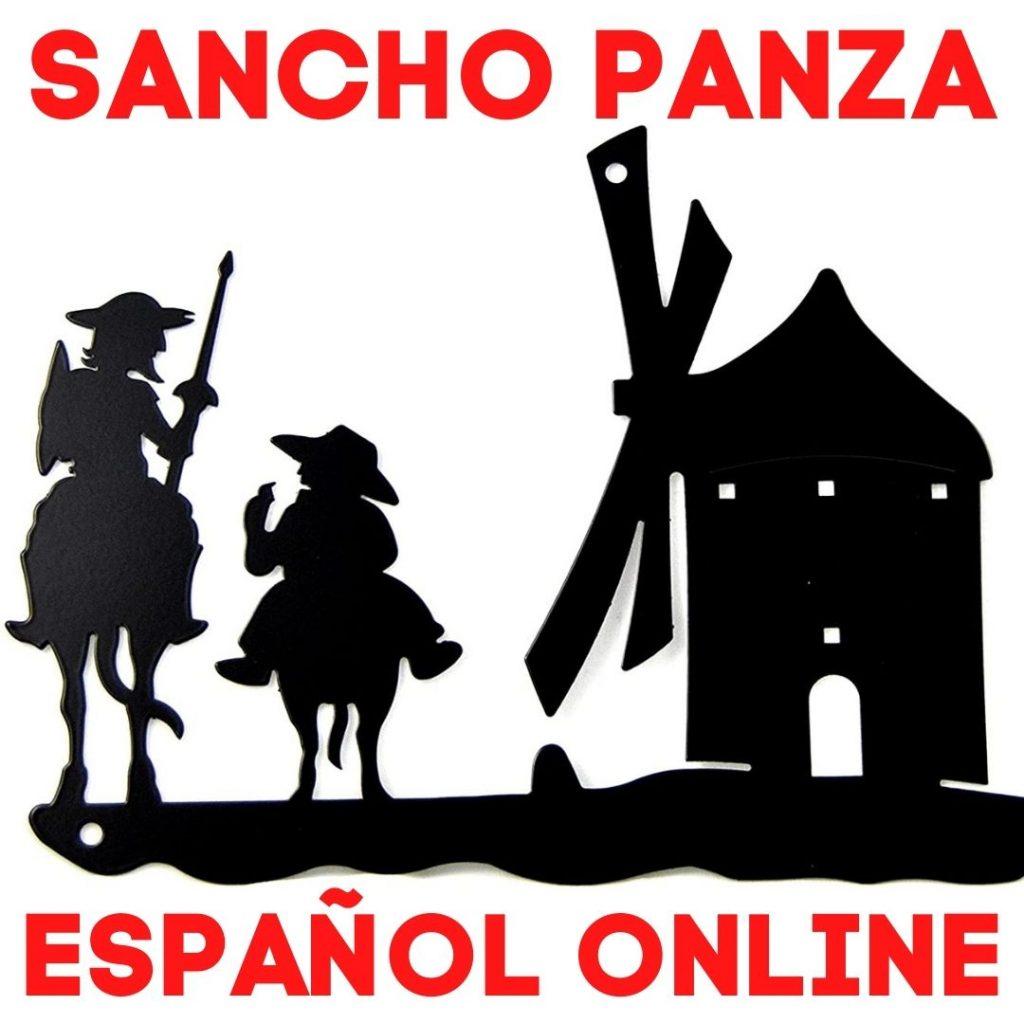 Clases de español online Sancho Panza